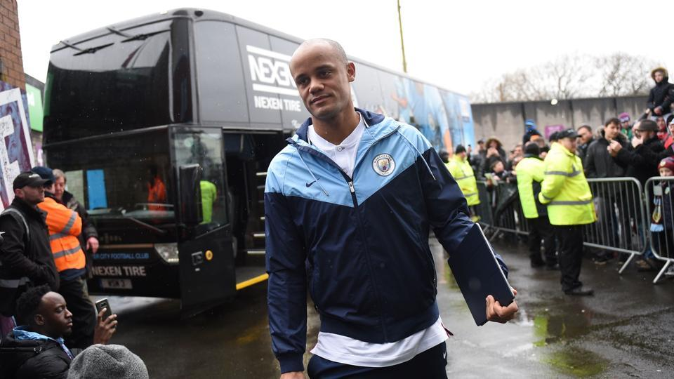 Vincent Kompany has no intentions of leaving Manchester City despite the fact that he's no longer guaranteed a first-team place at the side.
