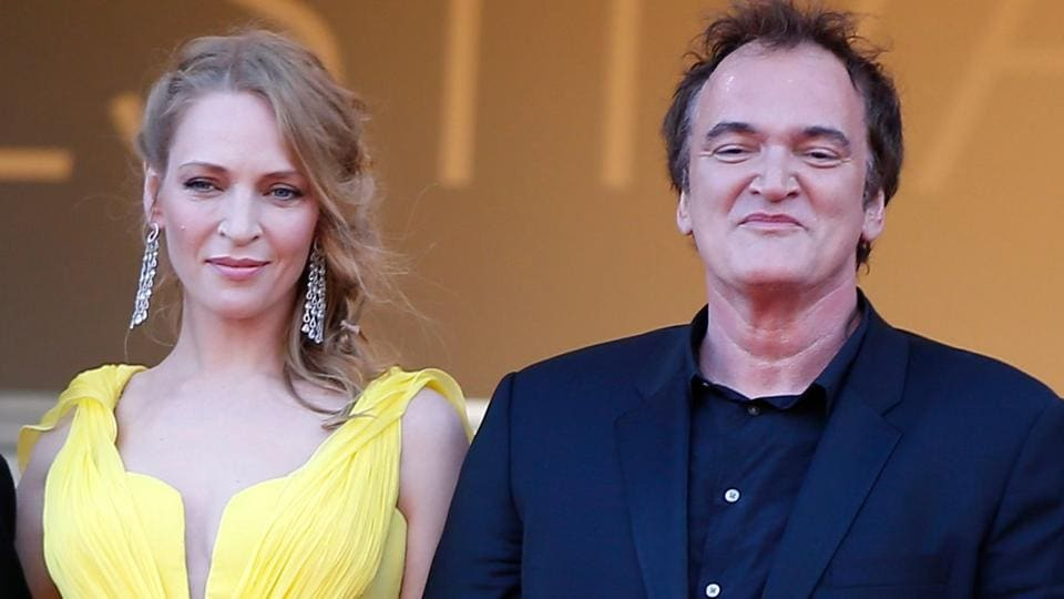 Quentin Tarantino,Uma Thurman,Harvey Weinstein