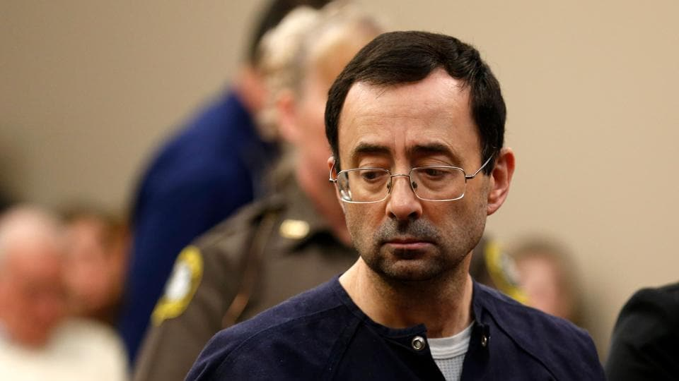 Former Michigan State University and USA Gymnastics doctor Larry Nassar has been sentenced to another 40-125 years in prison