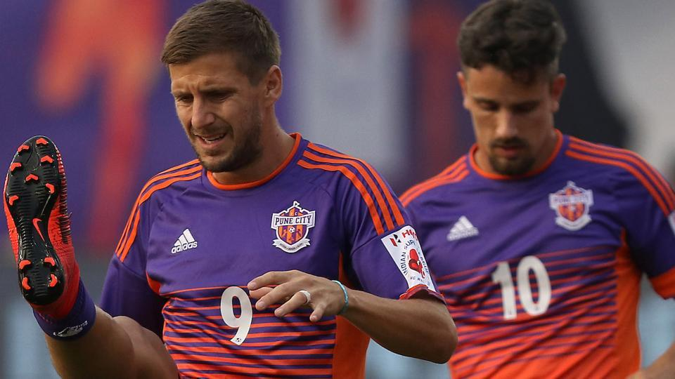 FCPune City face NorthEast United FC in their Indian Super League match in Guwahati on Wednesday.