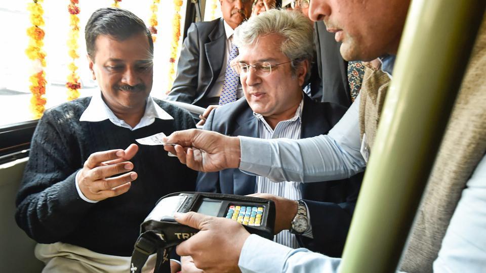 common mobility card,Delhi Metro,DTC buses