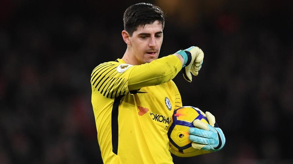Thibaut Courtois defended Antonio Conte after Chelsea's humiliating defeat against Watford on Monday.