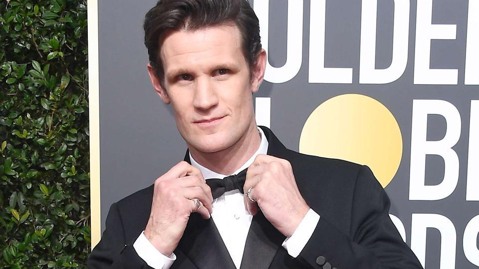 Actor Matt Smith attends The 75th Annual Golden Globe Awards at The Beverly Hilton Hotel on January 7, 2018 in Beverly Hills.