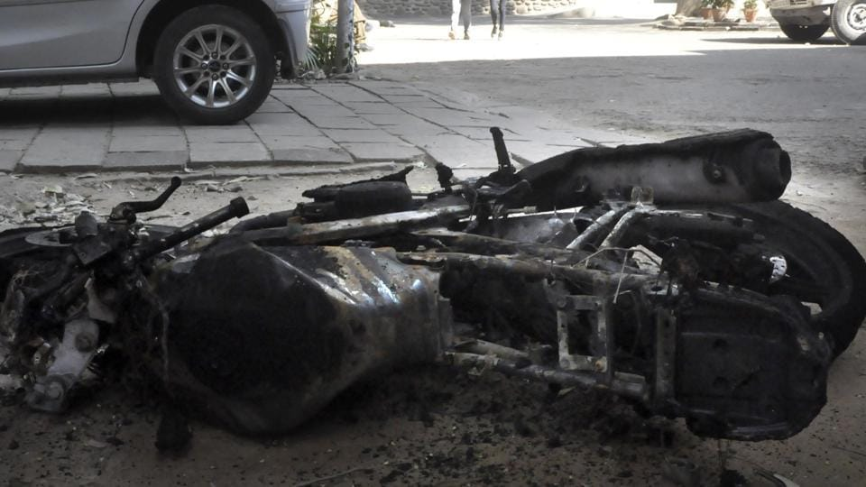 over speeding,Bike accident,Chandigarh news