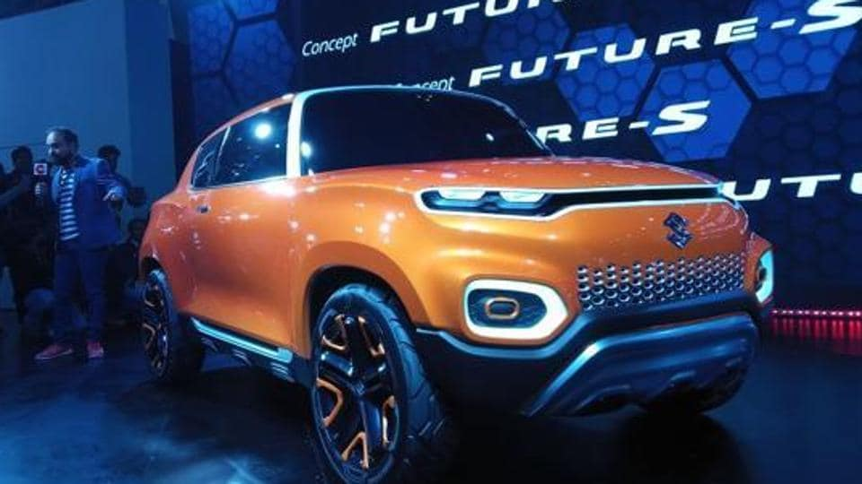The Concept Future S will be the second car after Vitara Brezza (a compact sports utility vehicle or SUV) to be designed entirely in India.