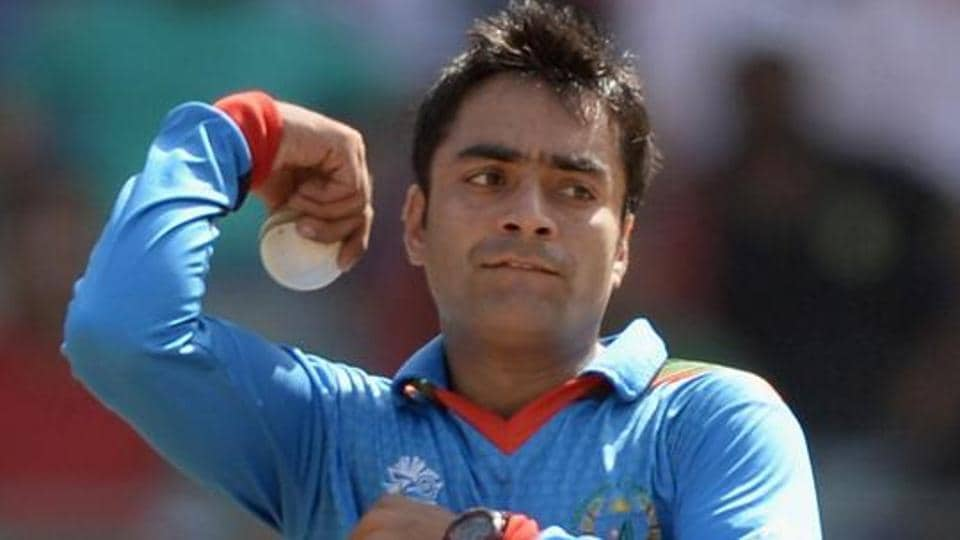 Rashid Khan, 19, was signed by Sunrisers Hyderabad for  million in last month's Indian Premier League auction and finished with 2-23 for Afghanistan against Zimbabwe.