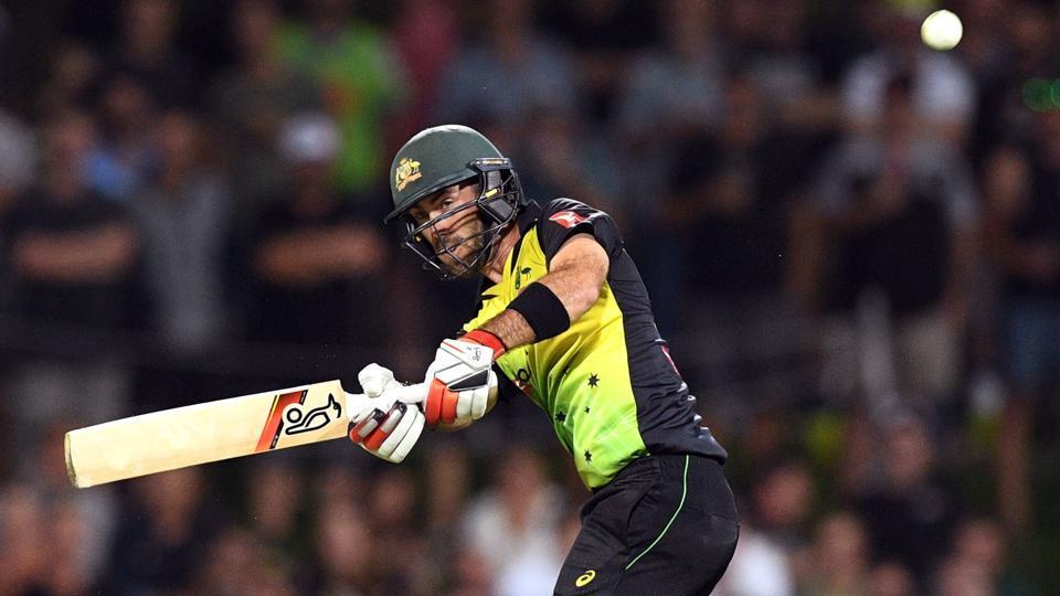 Australia's batsman Glenn Maxwell enroute to his century during the Twenty20 cricket match against England at Bellerive Oval in Hobart on February 7, 2018. Get full cricket score of Australia vs England T20 international here.