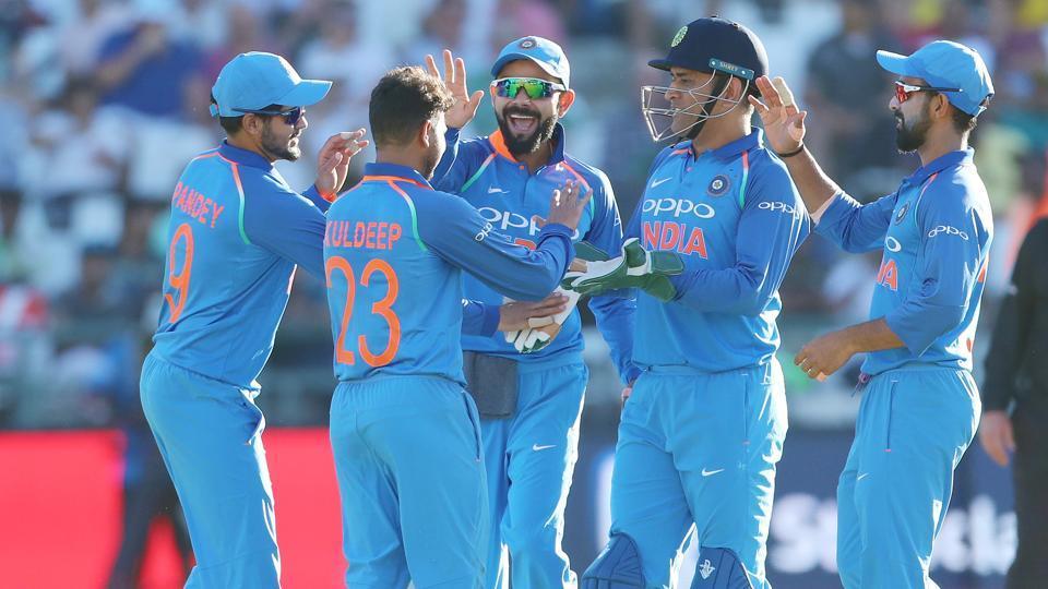 Live cricket score,India vs South Africa,3rd ODI
