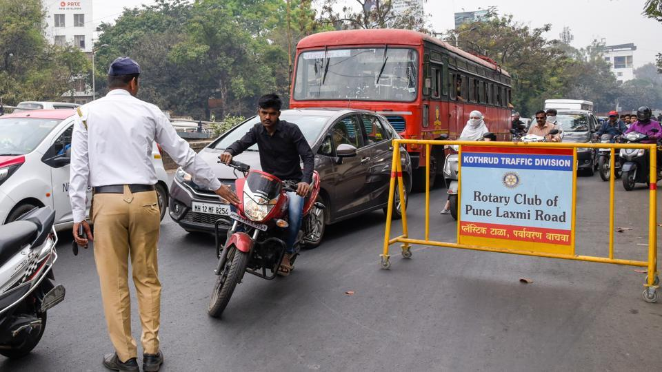 On Tuesday, Rs 2,50,100 was collected from 649 people on Tuesday while Rs 4,66,300 was collected from 1,114 people on Wednesday, according to the traffic police.