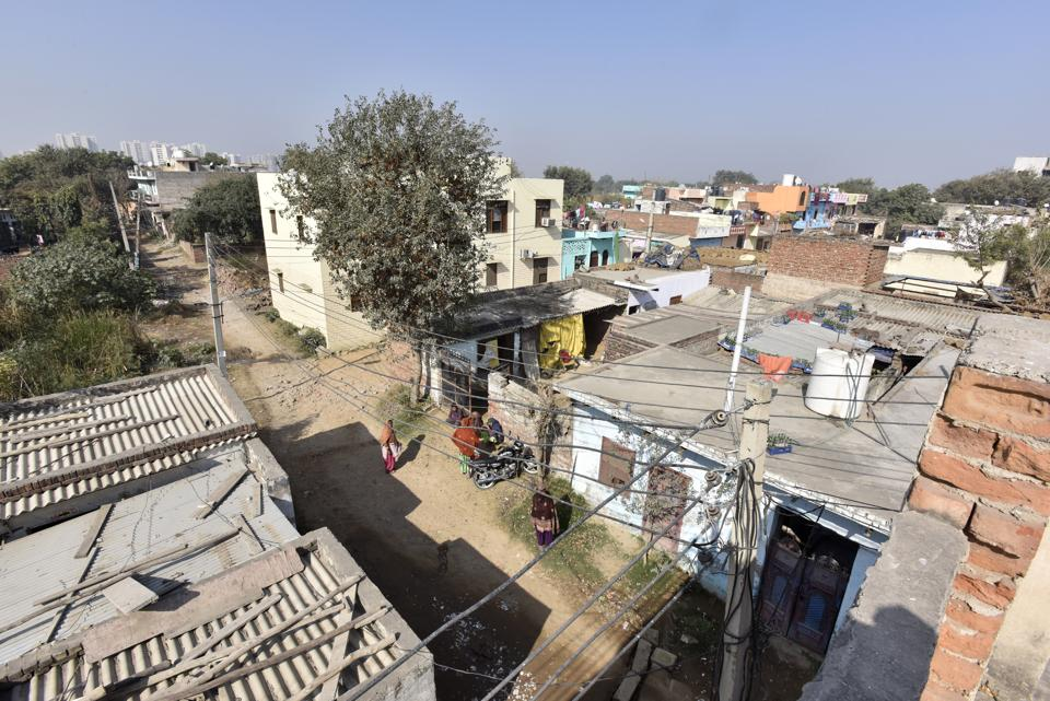 As many as 94 families are to be relocated from Kherki Daula village.