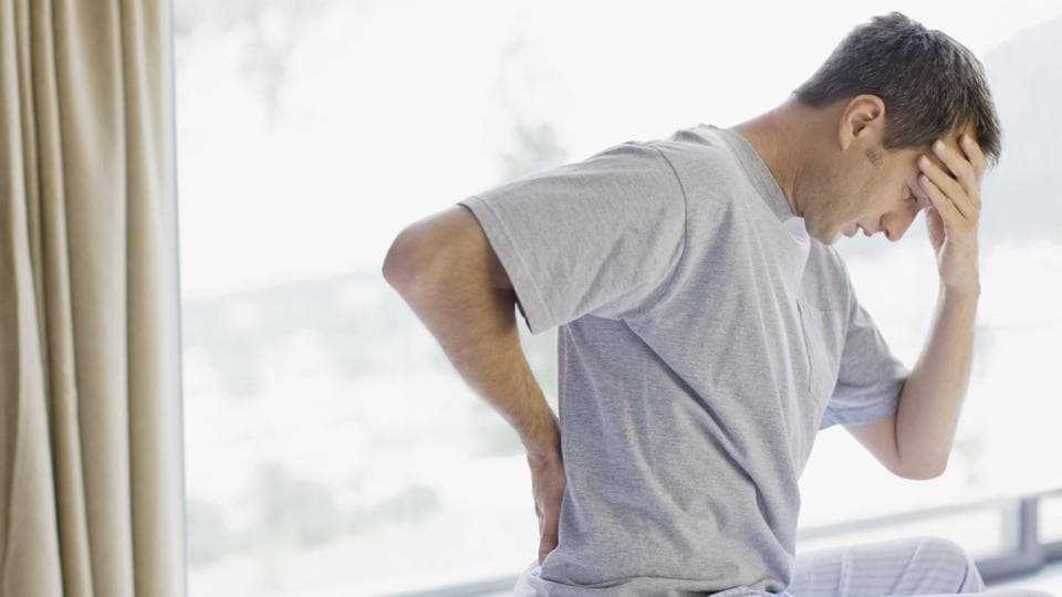 Researchers found that back pain affected nearly half of well-functioning, highly active older adults.
