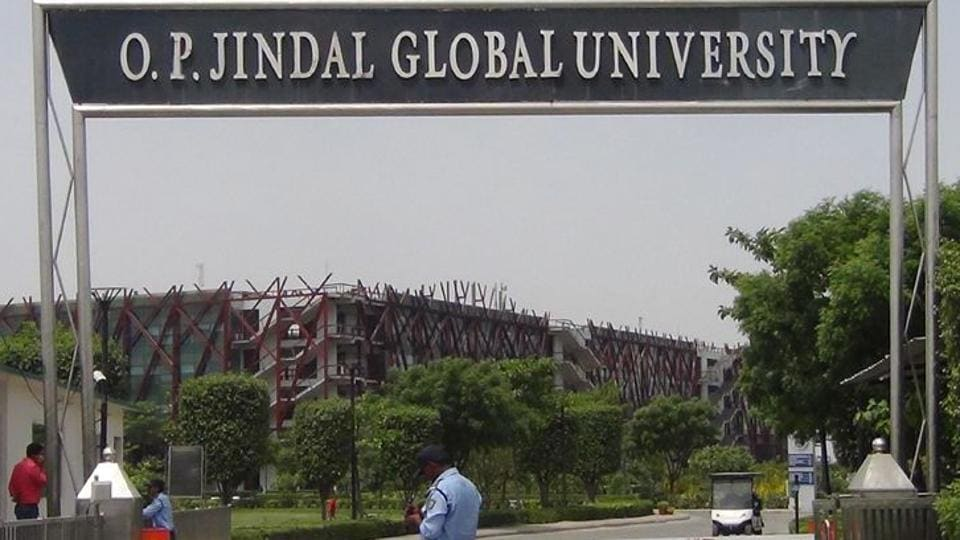 A Jindal University student had claimed she was raped by 3 fellow students who were blackmailing her with releasing objectionable images of her.