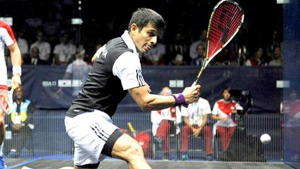 SauravGhosal is one of India's top squash players.