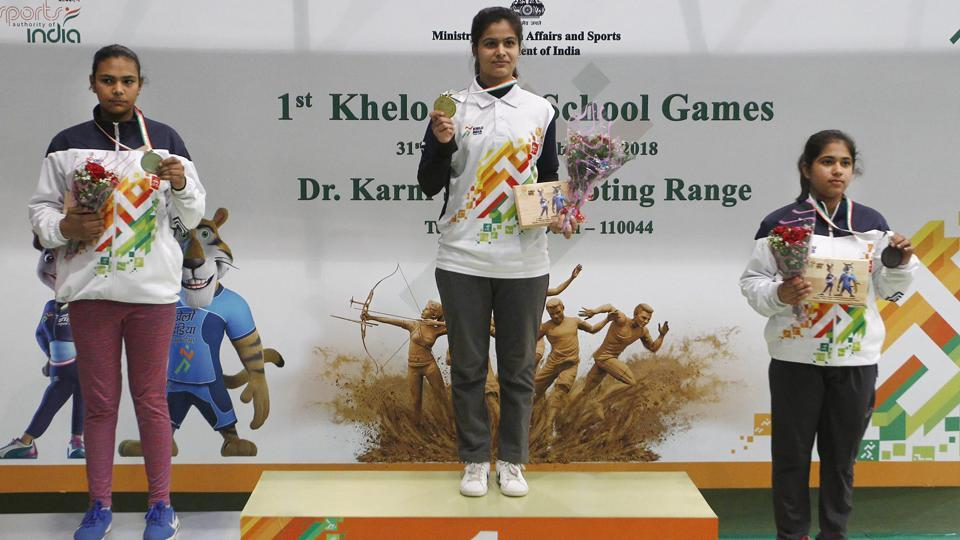 Haryana finished with the most number of gold medals in the Khelo India School Games.