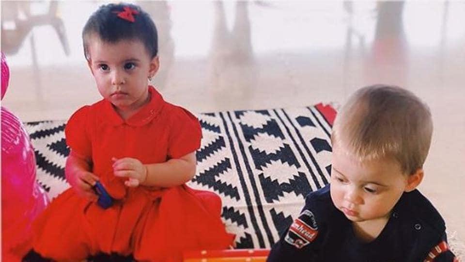 Karan Johar's twins, Yash and Roohi, turned one on February 7.