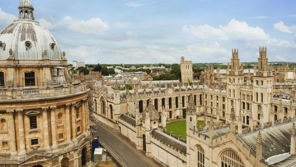 File photo of Oxford University.