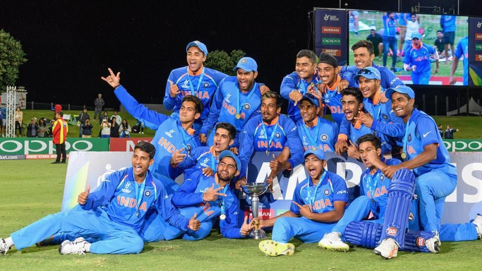 India became the first side to win four titles at the ICC Under-19 Cricket World Cup. Opener Manjot Kalra produced a sparkling 101 not out as India scored a handsome eight-wicket victory over Australia at the Bay Oval in Tauranga in New Zealand on February 3, 2018.