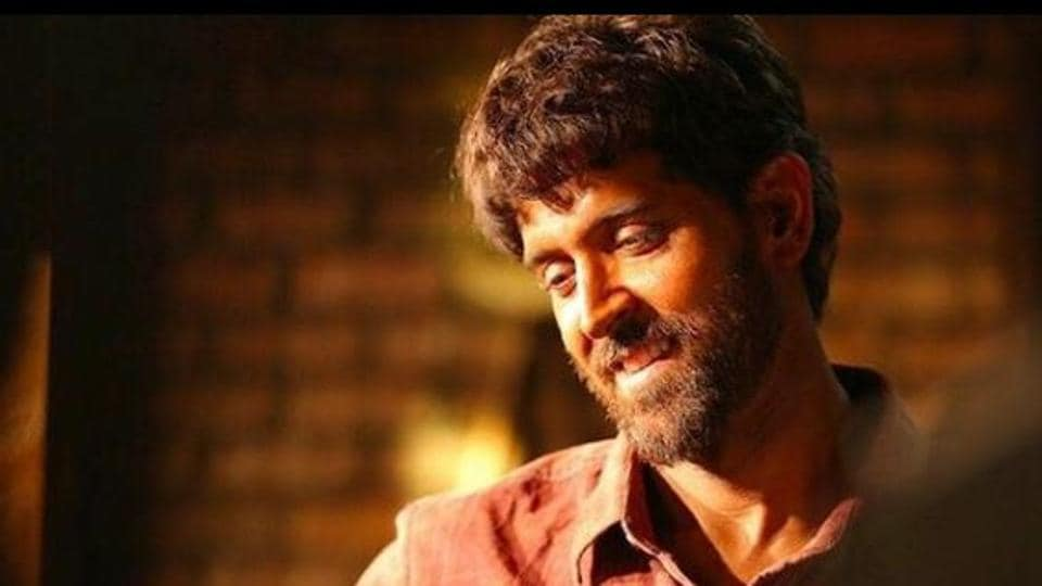 Hrithik Roshan plays mathematician Anand Kumar is Super 30.