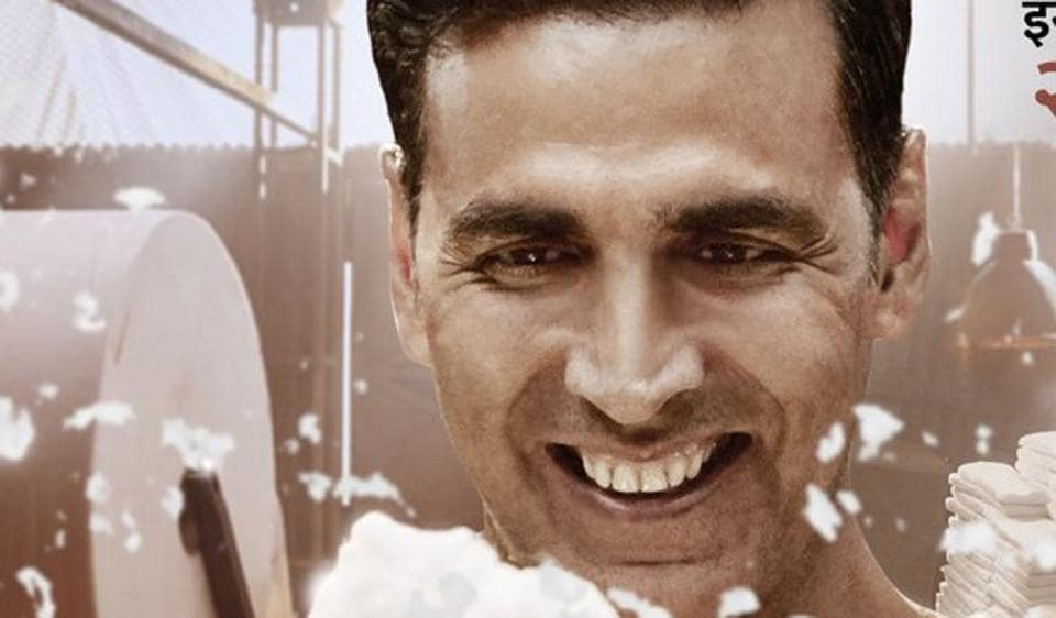 Akshay Kumar plays the titular role in R Balki's Padman.
