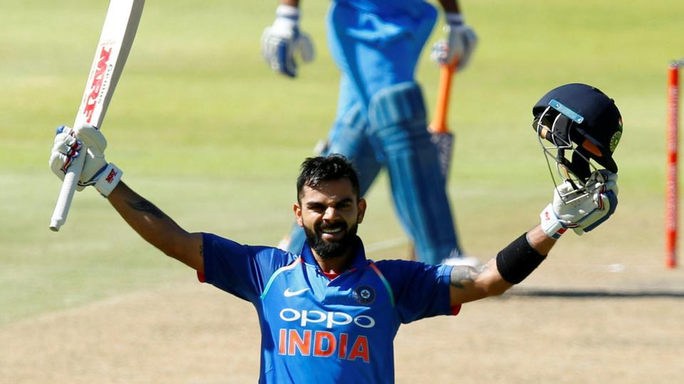 Virat Kohli scored his 34th ODI century during the third India vs South Africa ODI on Wednesday.