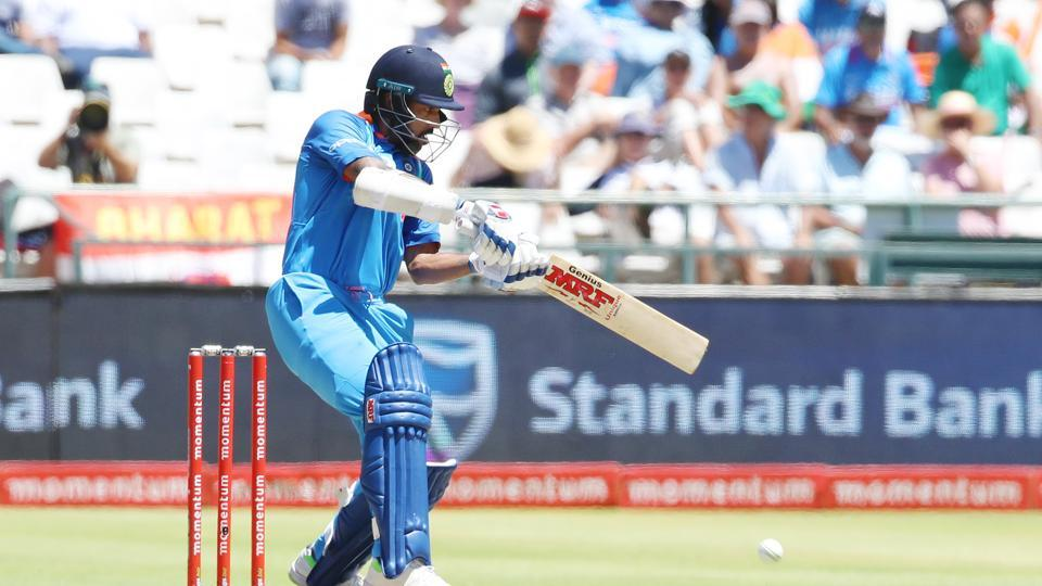 Dhawan hit his 25th fifty and looked set to get a big one.   (BCCI )