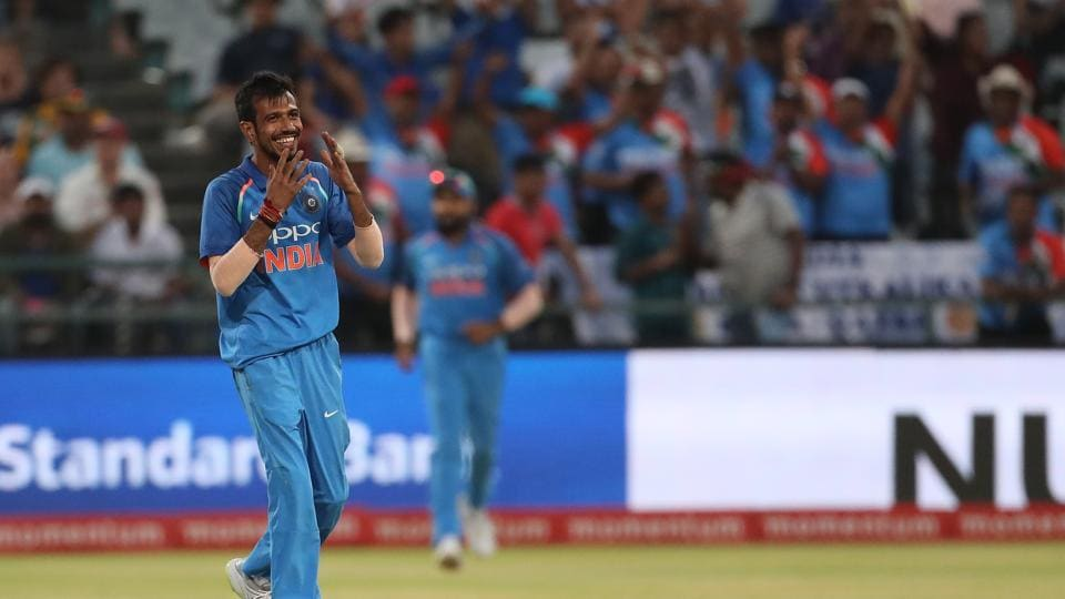 Chahal got rid of Duminy and debutant Heinrich Klaasen in quick succession to leave the hosts in all sorts of trouble.  (BCCI )
