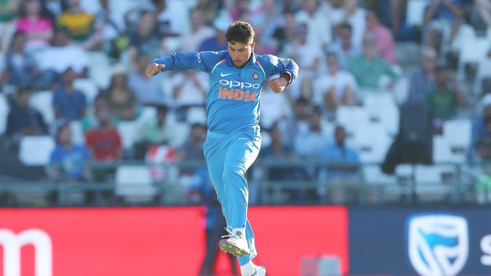 Kuldeep took three more wickets and finished with figures of 4/23.  (BCCI )