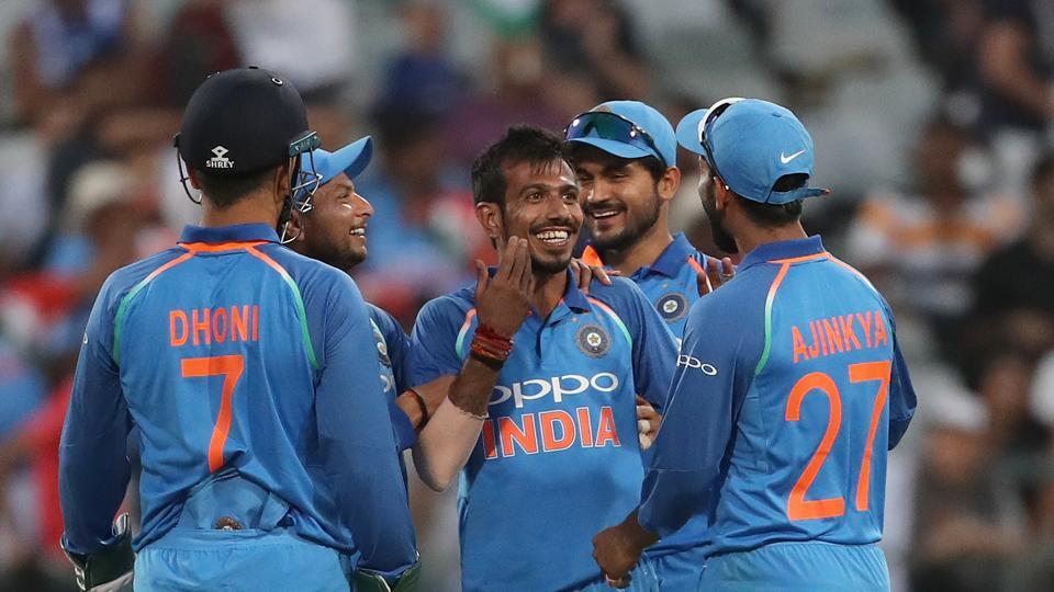 Chahal also took four wickets as South Africa were bundled out for 179.  (BCCI )