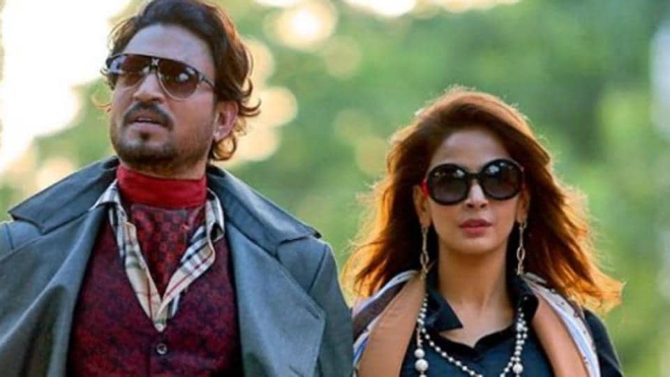 Irrfan Khan played a Delhi-based businessman in Hindi Medium who wants to get his daughter admitted to an English-medium school.