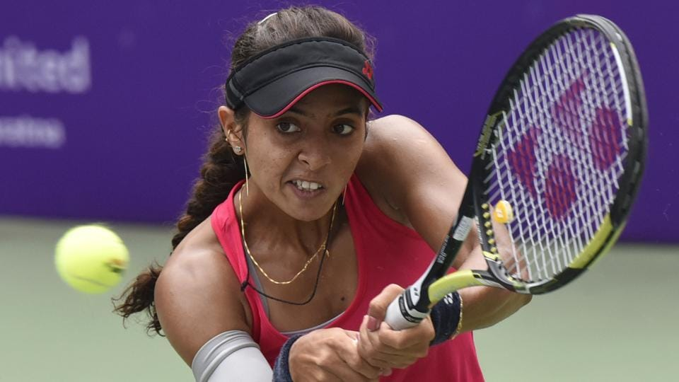 Ankita Raina has performed brilliantly for India in the ongoing Fed Cup tennis tournament.
