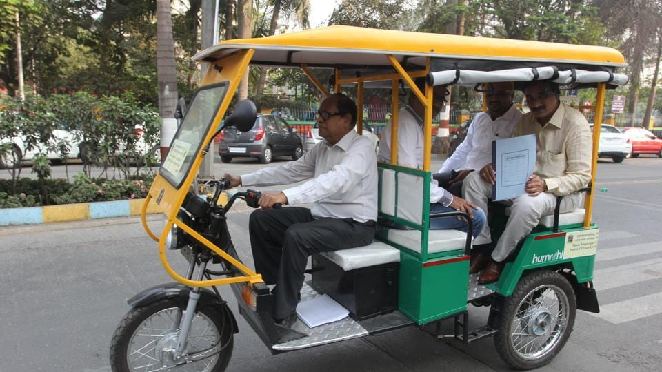 The e-rickshaws can accommodate six to seven passengers and will reduce air and noise pollution