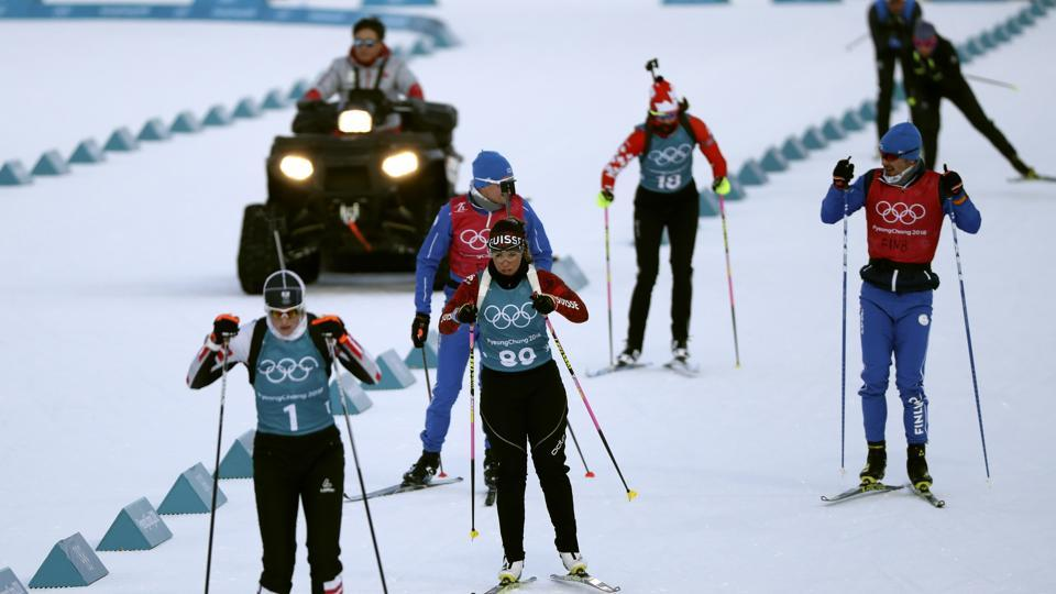 Athletes ruin ahead of the Pyeongchang 2018 Winter Olympic Games. (REUTERS)