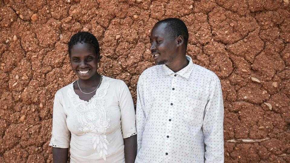Teko Samuel (R) poses with his wife Chepchumba Damaris, who was not circumcised, during a PERUR meeting. More than 200 million girls and women are estimated to have undergone FGM worldwide and 3 million are at risk each year. February 6, 2018, marked the 6th International Day of Zero Tolerance for Female Genital Mutilation. (Yasuyoshi Chiba / AFP)