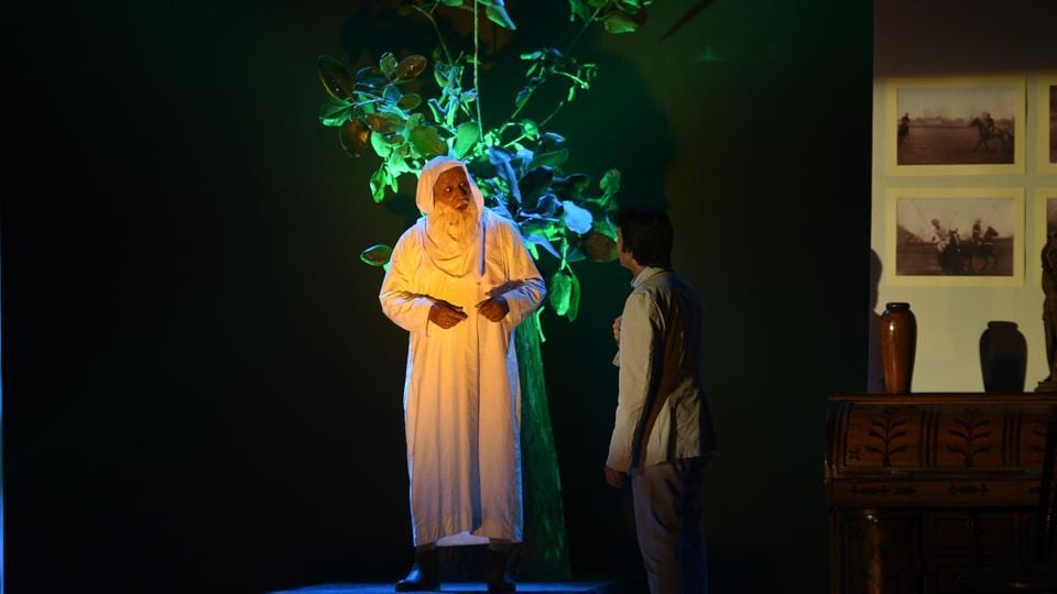 The play Under An Oak Tree being staged at Horniman Circle on Wednesday.