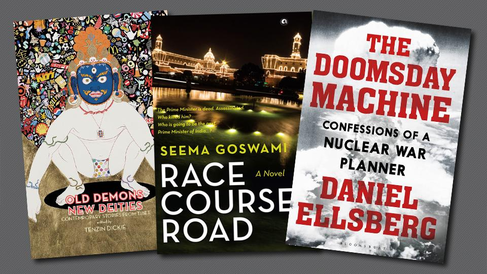 This week's picks include a collection of short stories, a past paced novel, and a chilling 'memoir'.