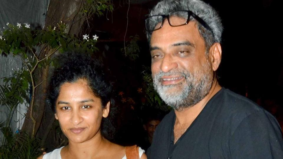 R Balki and Gauri Shinde have been married since 2007.(Yogen Shah)