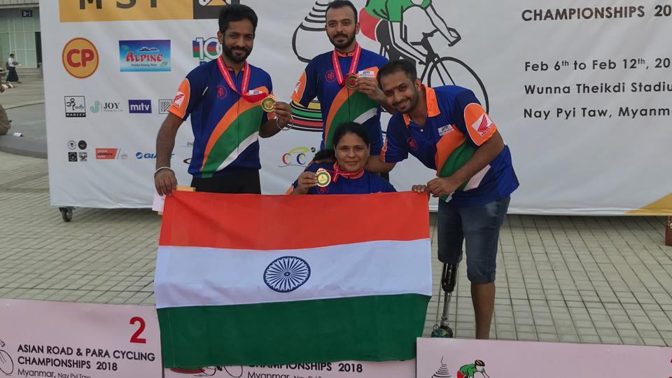Asian Para-Cycling Championships,India,Para-Cycling