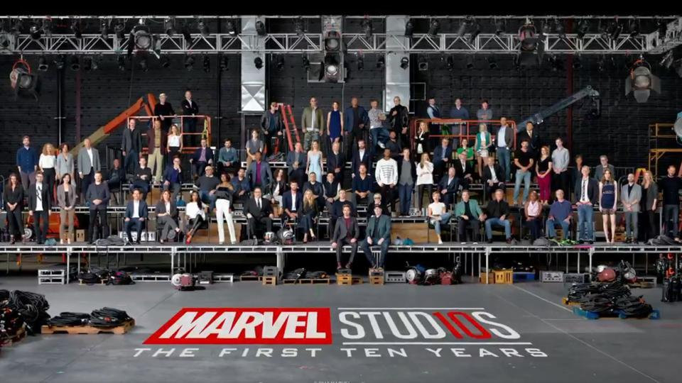 How many of your favourite superheroes can you spot?