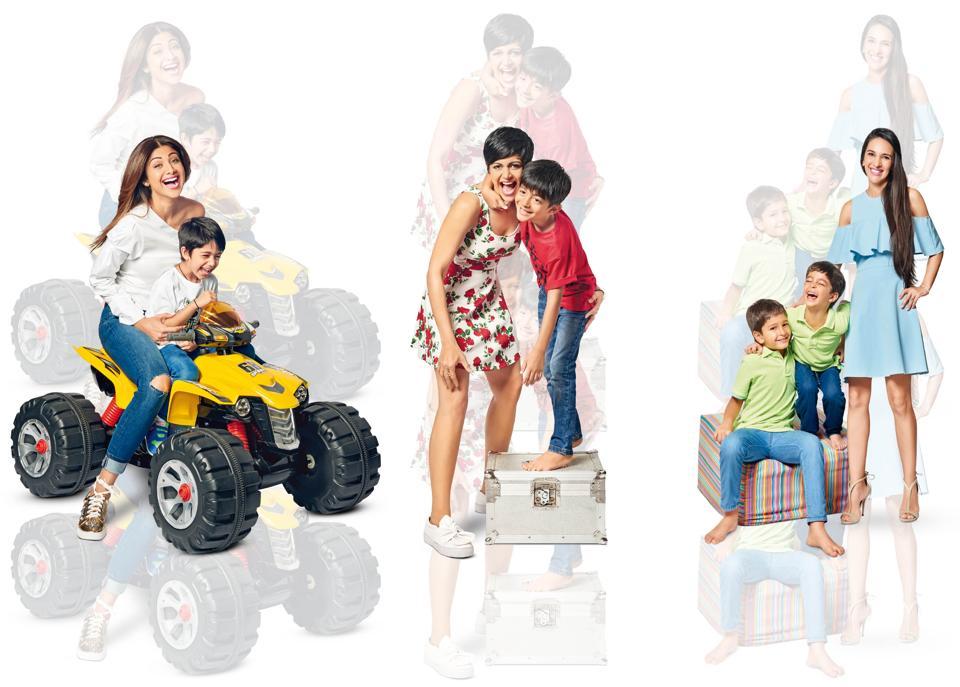 Valentine's Day,Moms and sons,Mandira Bedi