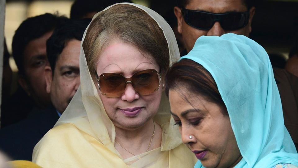 Bangladesh Opposition Leader Khaleda Zia awarded 5 years imprisonment