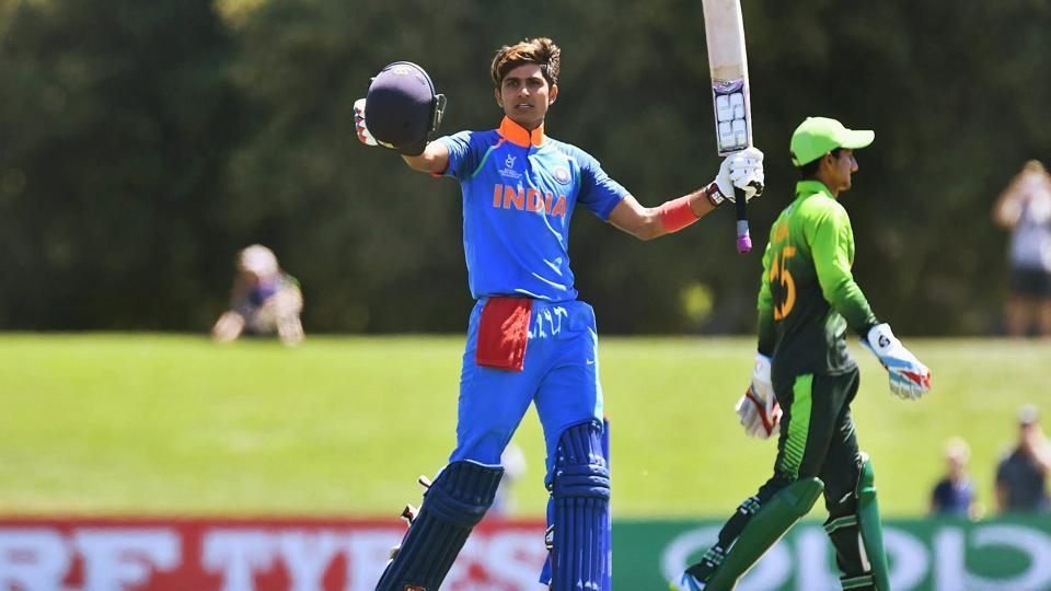 Shubman Gill was the highest run-getter for India at the Under-19 Cricket World Cup in New Zealand.