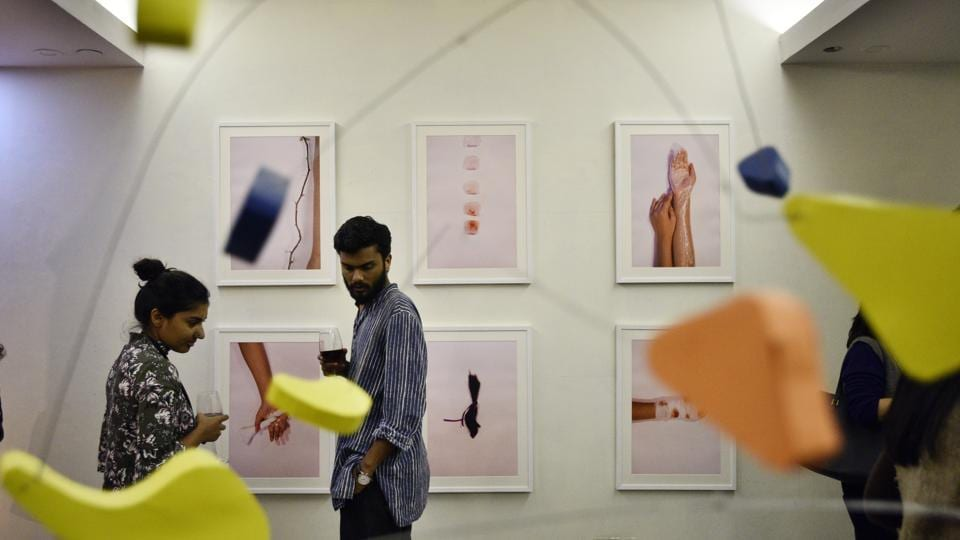By presenting The Irregulars Art Fair in a space that used to be a leather goods factory the attempt is at showcasing art where it may not be traditionally presented or thought present. (Anushree Fadnavis  / HT Photo)