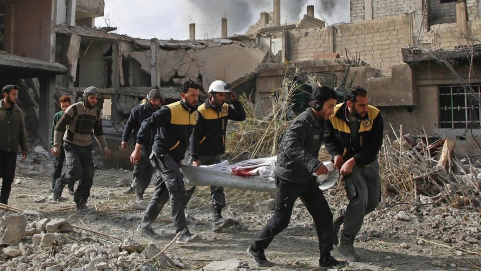 Syria,Damascus,Eastern Ghouta