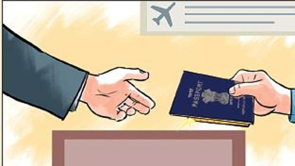 A police sub-inspector and a constable posted at the immigration department of Chhatrapati Shivaji International Airport have been suspended for compromising immigration checks.