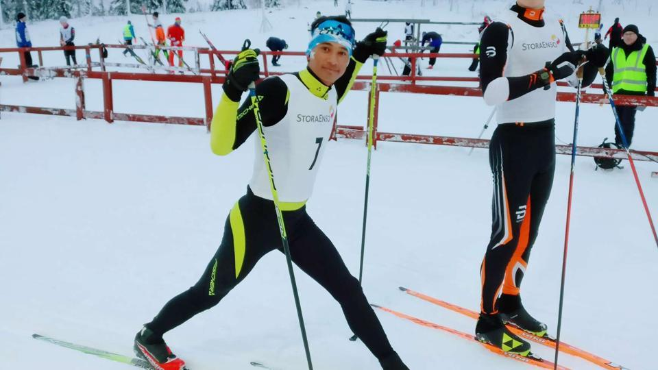 Jagdish Singh Rawat will compete in the 15km cross-country skiing at the 018 Winter Olympics.