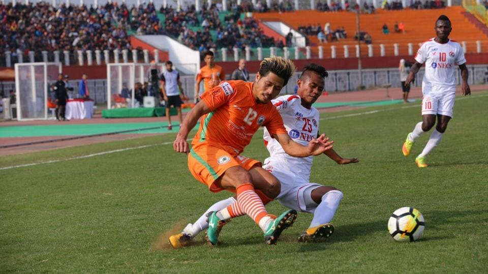 Neroca FC,AizawlFC,I-League