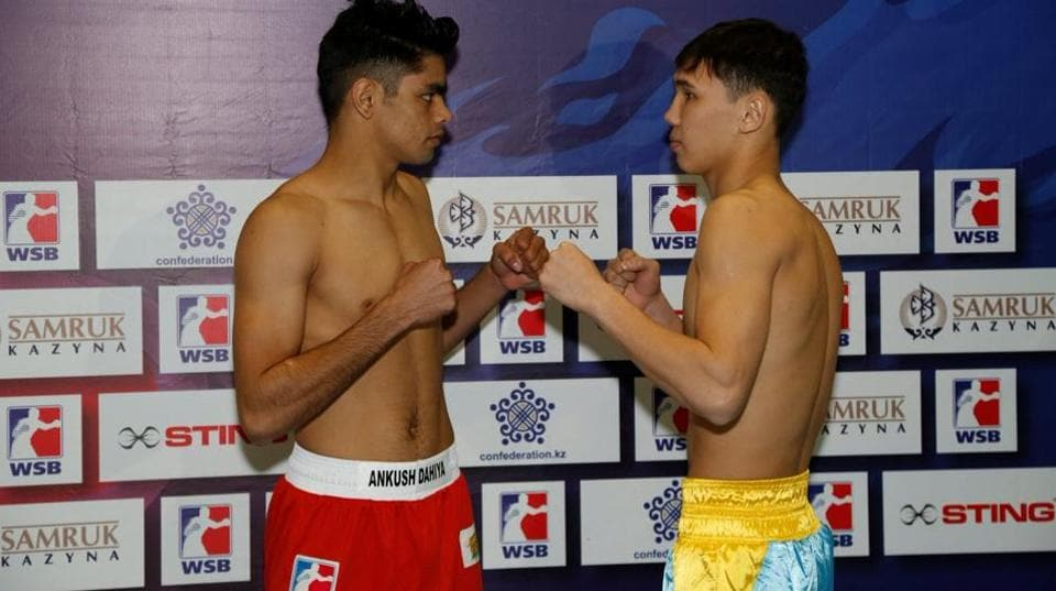 The Indian Tigers lost to the Astana Arlans in the World Series of Boxing on Sunday.