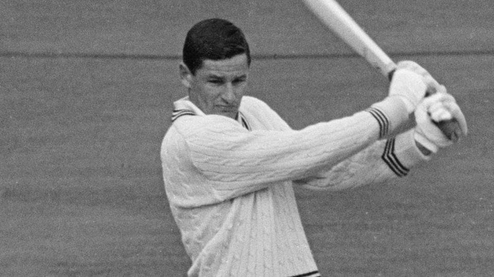 New Zealand cricketer Bevan Congdon of the Central Districts during a tour of Britain with the New Zealand team, April 1965. Bevan Congdon played 61 Tests, scoring 3448 runs at an average of 32.22.