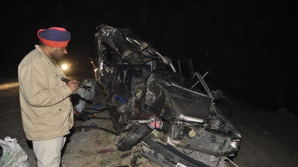 road accident,Jalandhar road accident,Punjab news