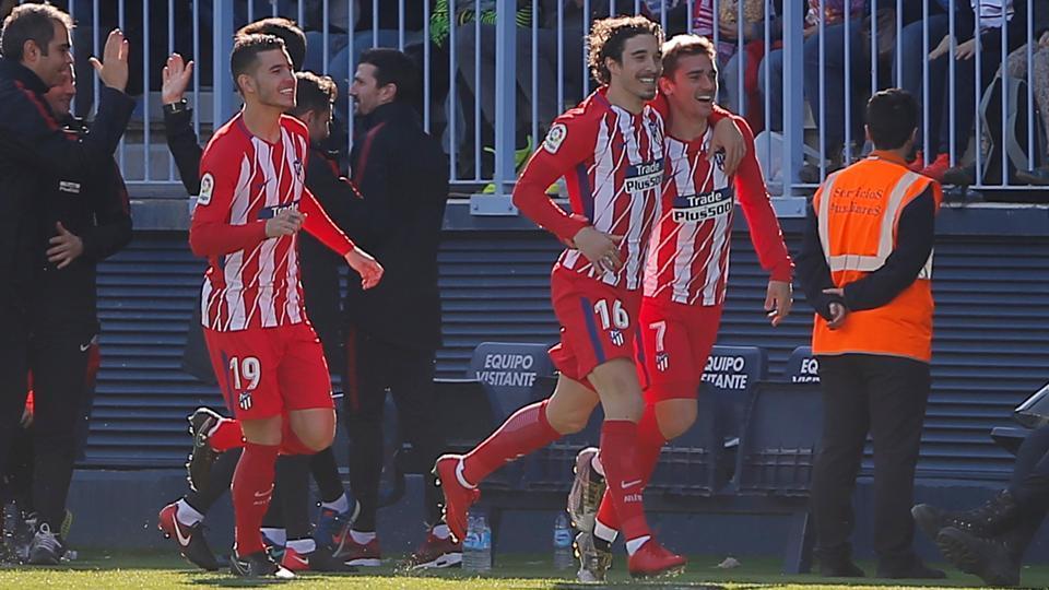 Antoine Griezmann scores Atletico Madrid winner after 40 seconds — La Liga